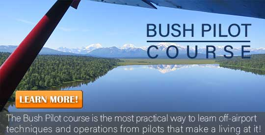 Bush Pilot Courses from Alaska Floats & Skis