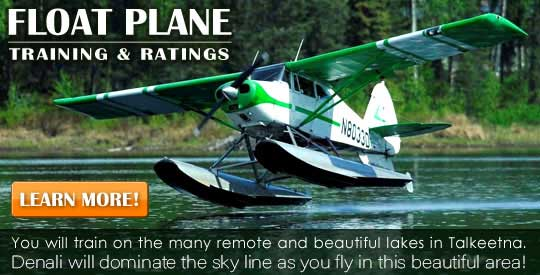 Float Plane Training and Ratings from Alaska Floats & Skis